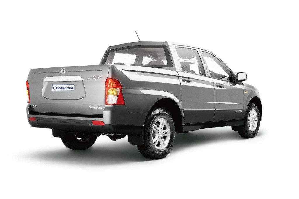 2014 ssangyong actyon sports ute review practical motoring. Black Bedroom Furniture Sets. Home Design Ideas