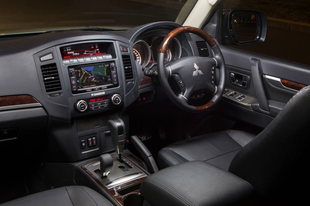 lots of buttons stashed around the pajeros interior - 2015 Mitsubishi Montero Interior