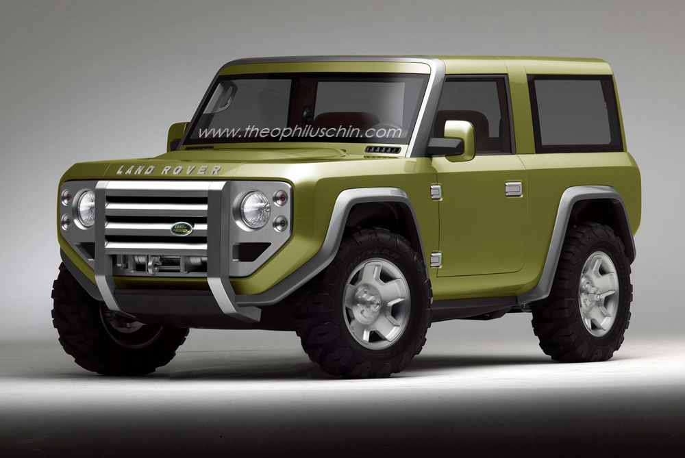 Land Rover Defender Concept What Might Have Been