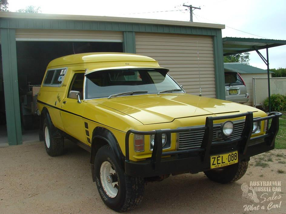 Hz Holden Sandman Overlander 4x4 Friday Find Practical