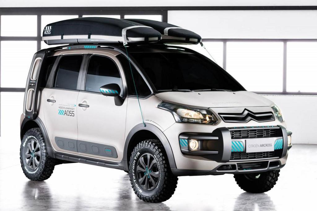 citroen c3 aircross lunar revealed in brazil practical motoring. Black Bedroom Furniture Sets. Home Design Ideas