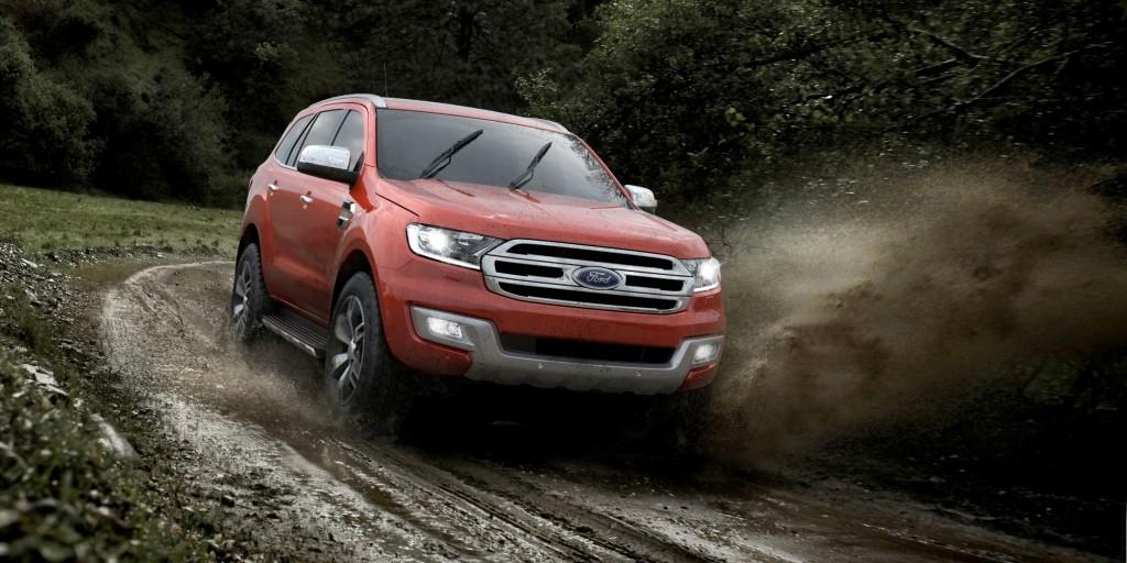 2015 Ford Everest revealed : Full Details [video ...