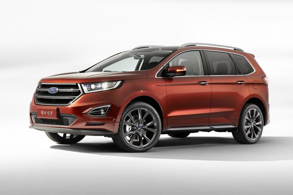 2015 ford edge gets seven seats in china practical motoring. Black Bedroom Furniture Sets. Home Design Ideas