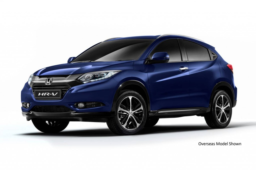 2015 honda hr v on sale in february 2015 practical motoring. Black Bedroom Furniture Sets. Home Design Ideas