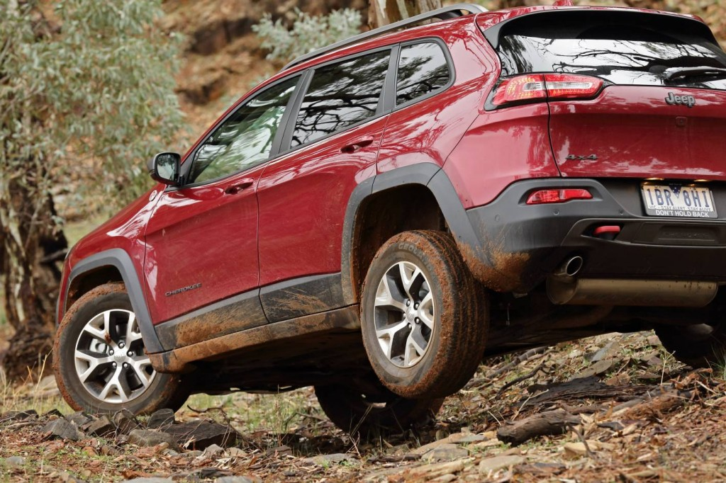 2014 jeep cherokee trailhawk review practical motoring. Black Bedroom Furniture Sets. Home Design Ideas