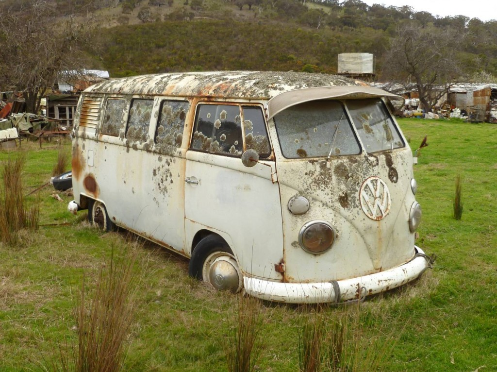 Buy this 'field found' 1964 volkswagen split window kombi | Practical ...