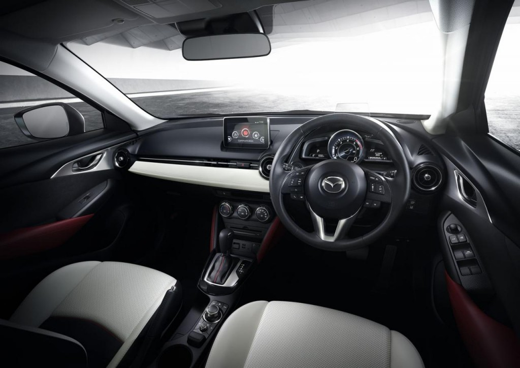 2015 mazda cx 3 revealed practical motoring for Mazda cx 3 interieur