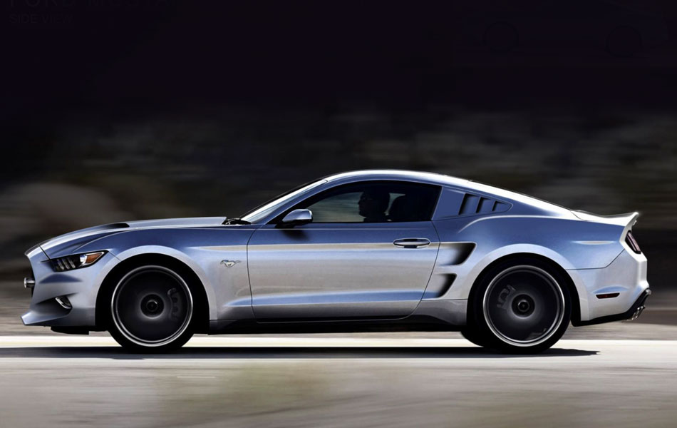 725hp 2015 Ford Mustang Rocket Revealed Practical Motoring