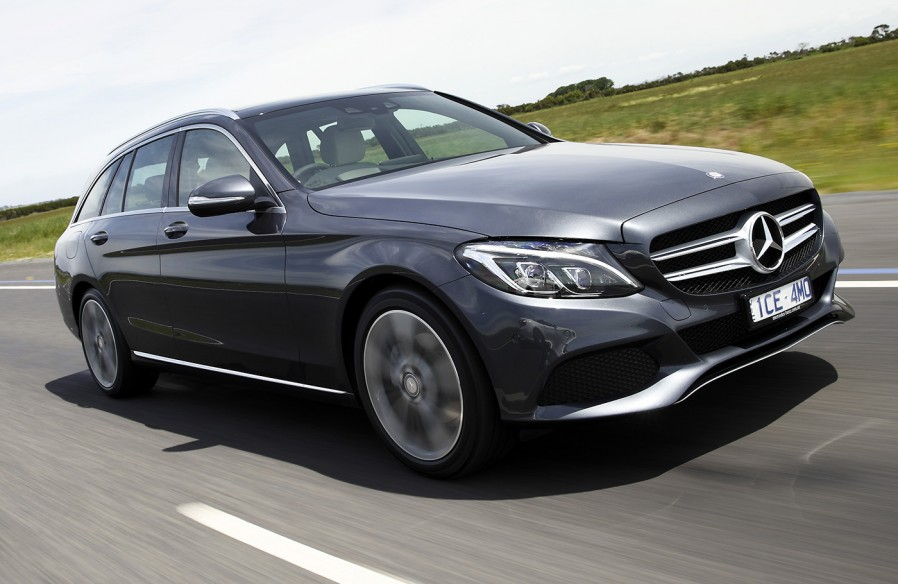 paul murrell s first drive 2014 mercedes benz c class estate review. Cars Review. Best American Auto & Cars Review
