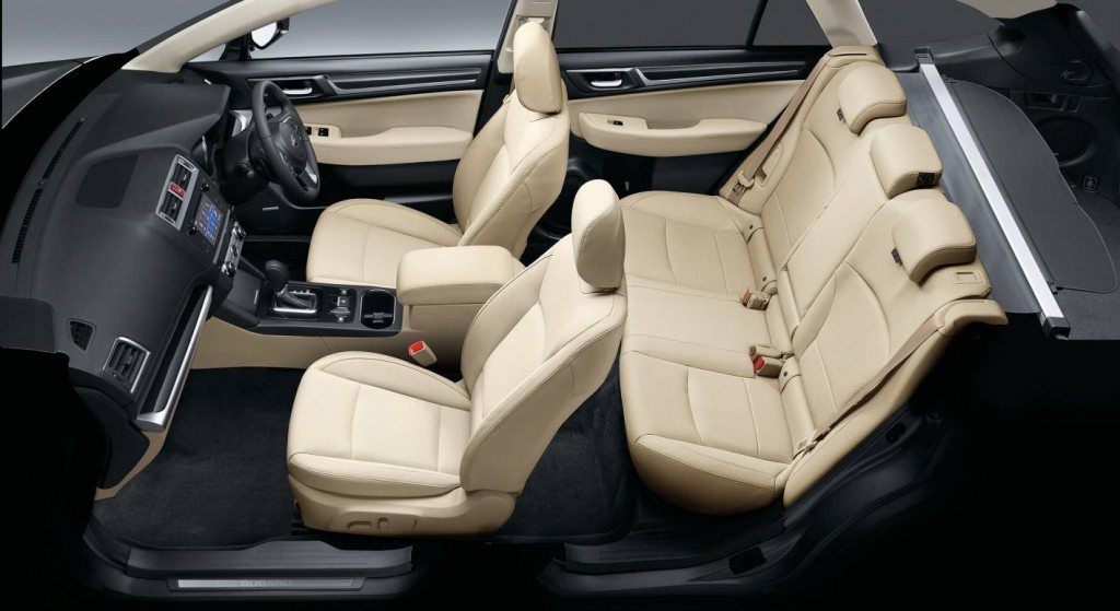 2015 subaru outback review practical motoring for Subaru outback leather interior