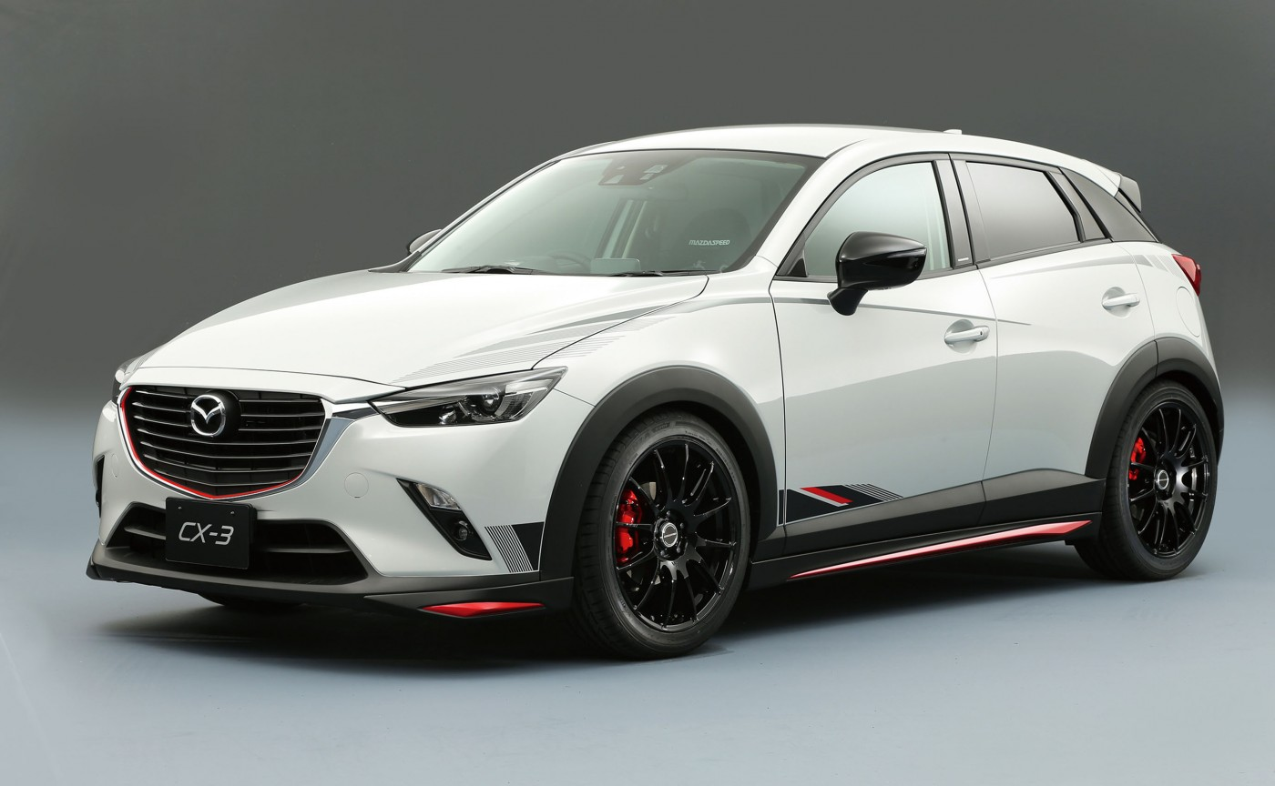 mazda cx 3 racing concept revealed practical motoring. Black Bedroom Furniture Sets. Home Design Ideas