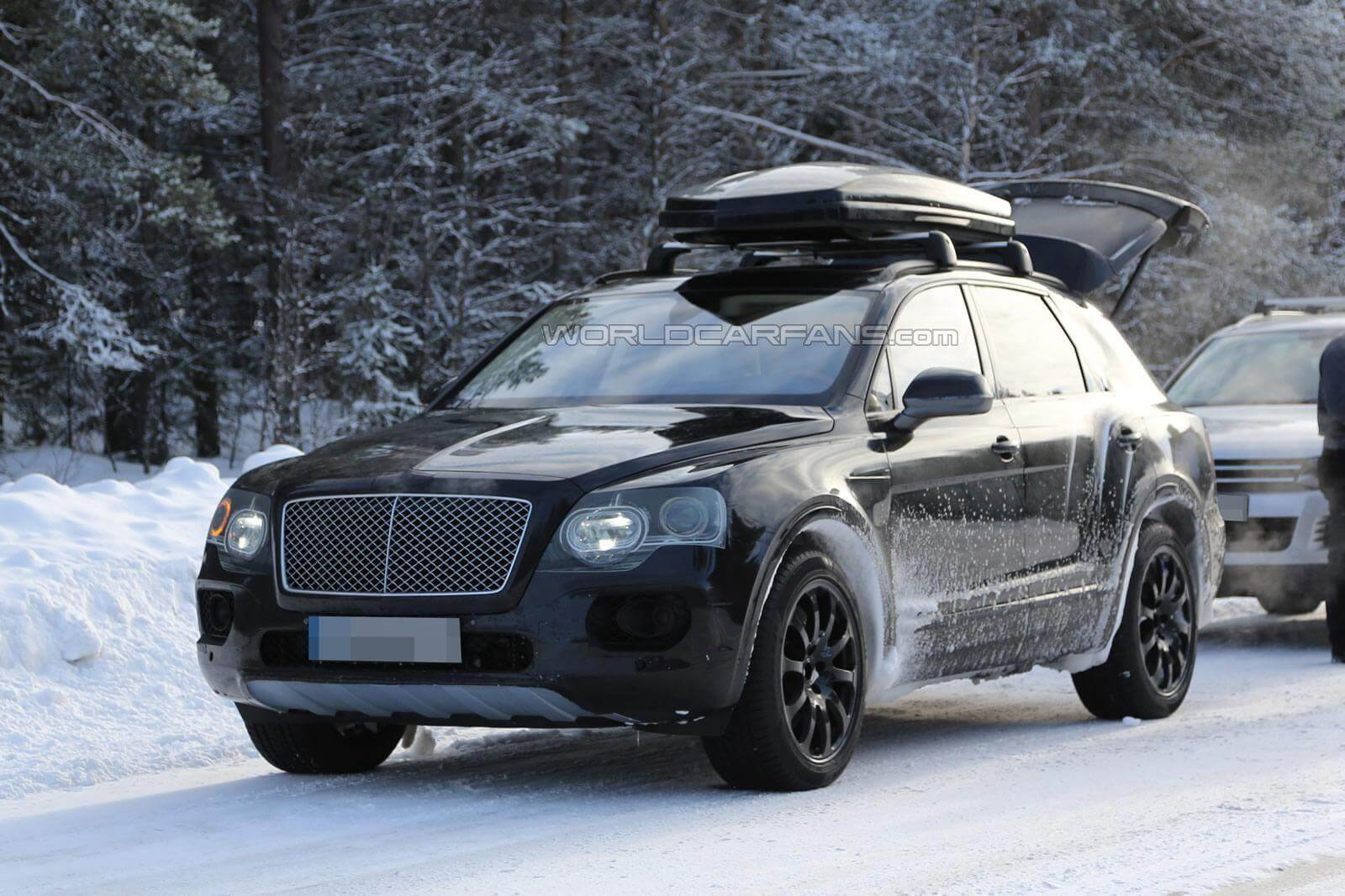 2016 bentley bentayga spied practical motoring. Black Bedroom Furniture Sets. Home Design Ideas