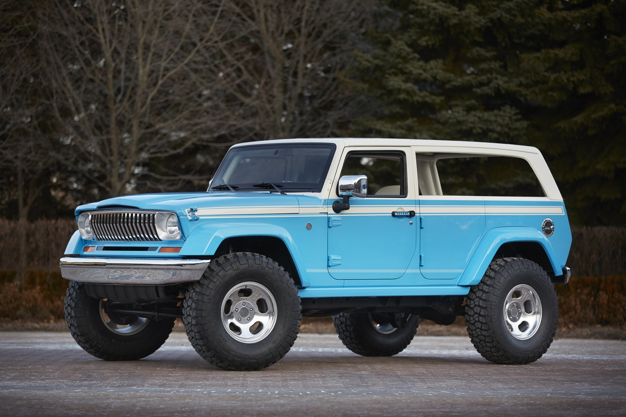 Jeep Chief Concept For Sale >> Jeep reveals seven concepts for the Easter Jeep Safari | Practical Motoring