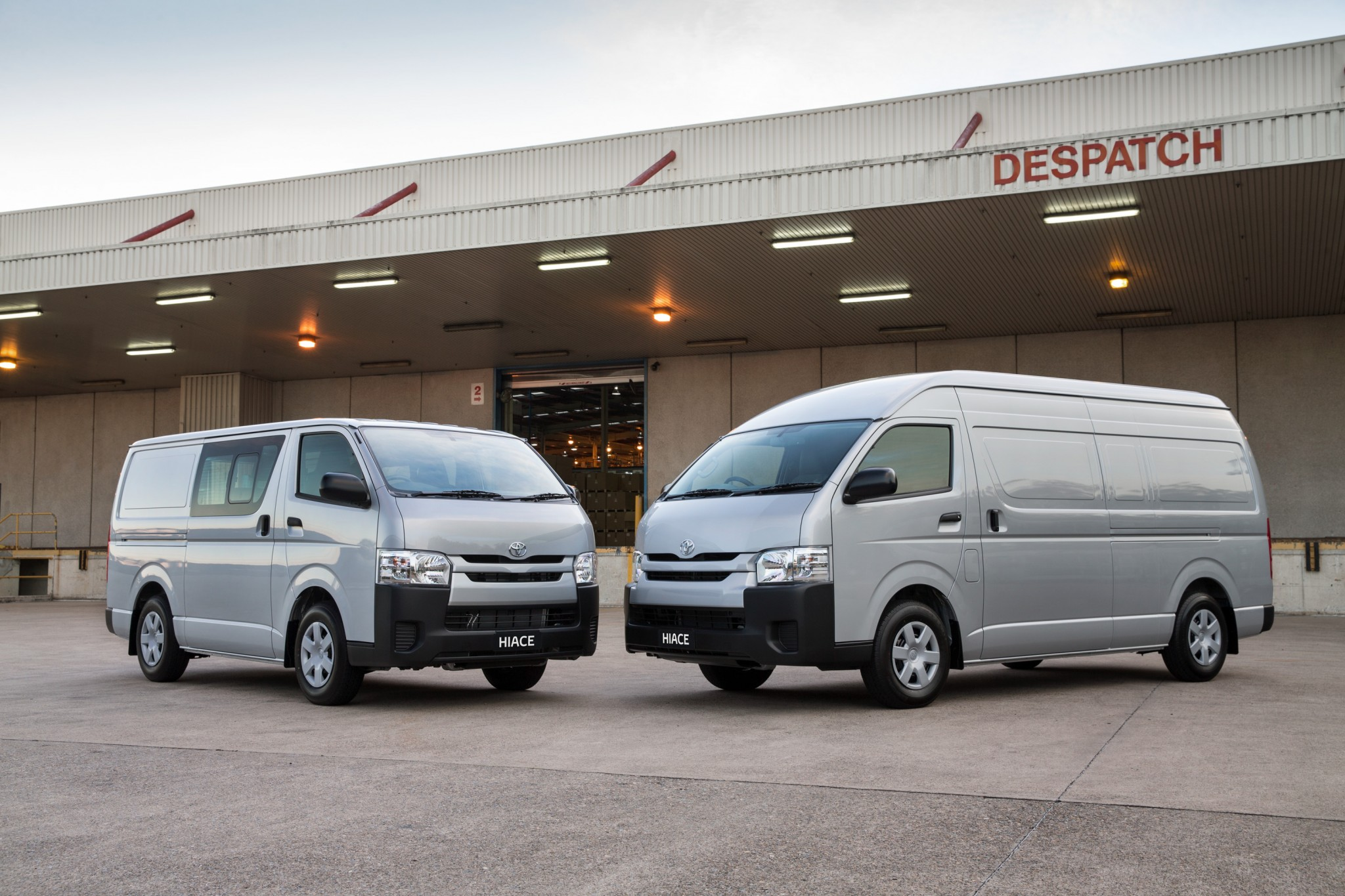 2015 toyota hiace gets a new engine and a price cut practical motoring