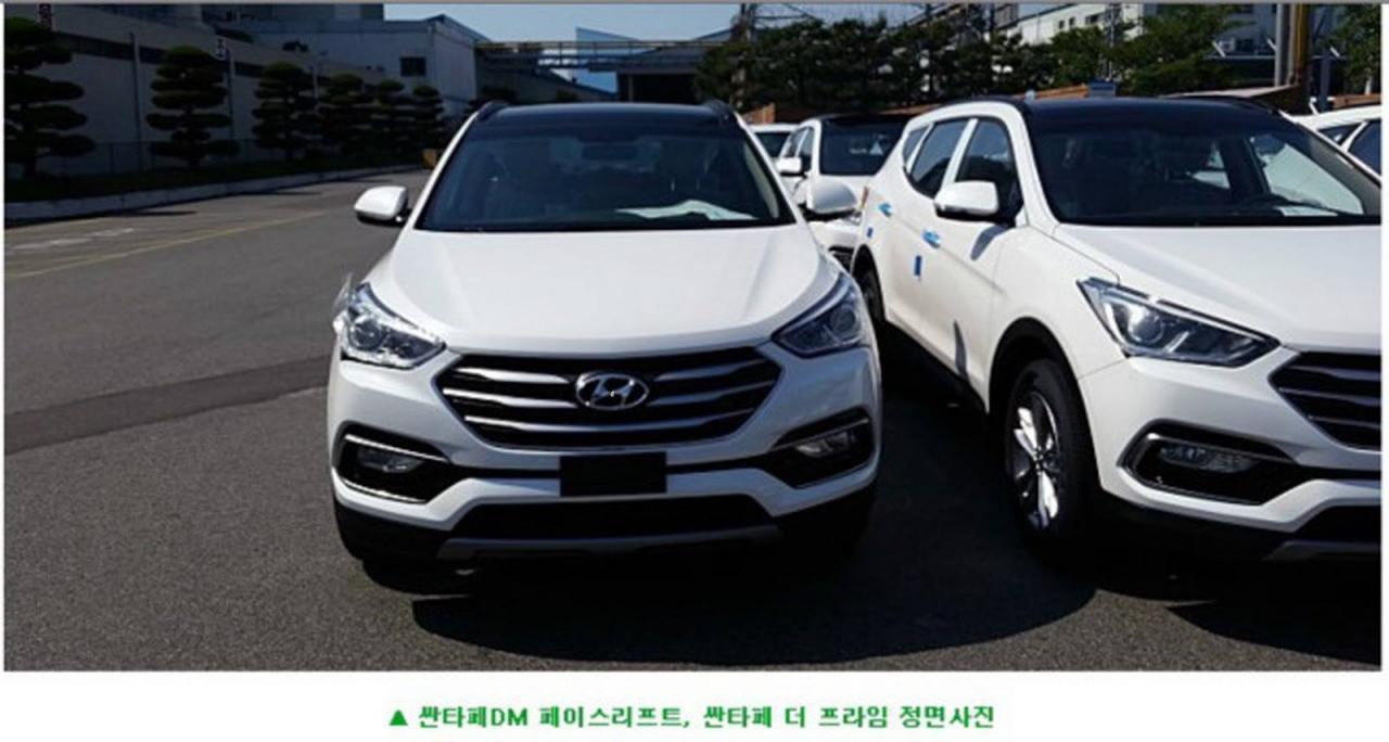 Refreshed 2016 Hyundai Santa Fe Spied Practical Motoring