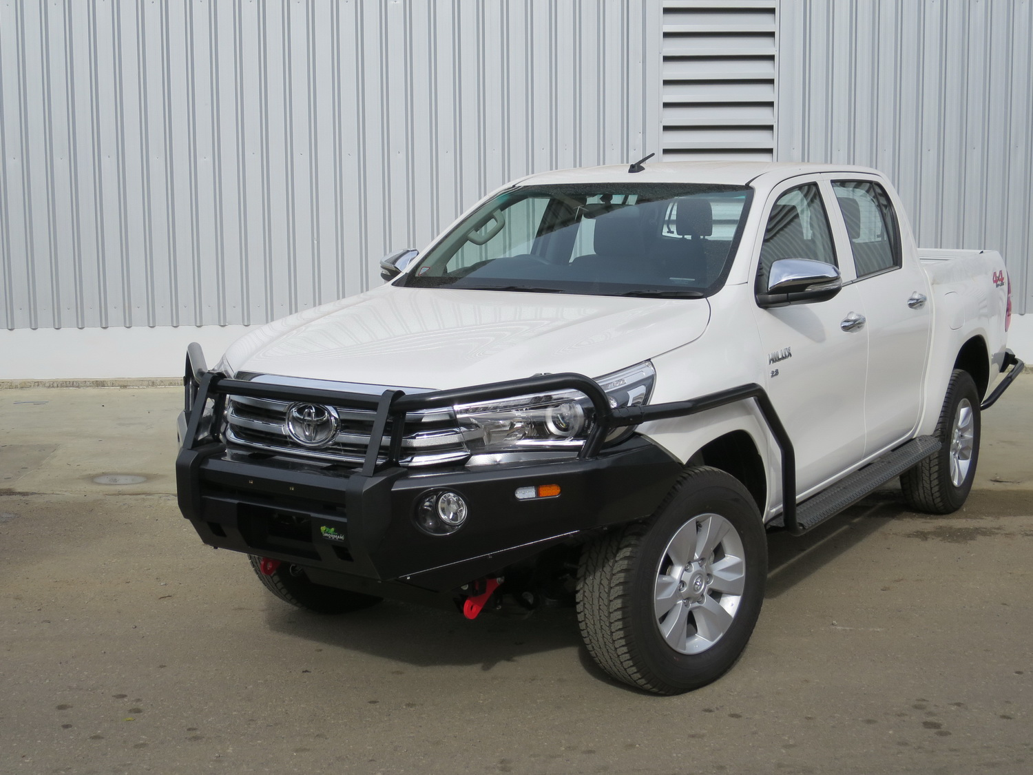 Ironman 4X4 preview barwork for the 2015 Toyota Hilux   Practical