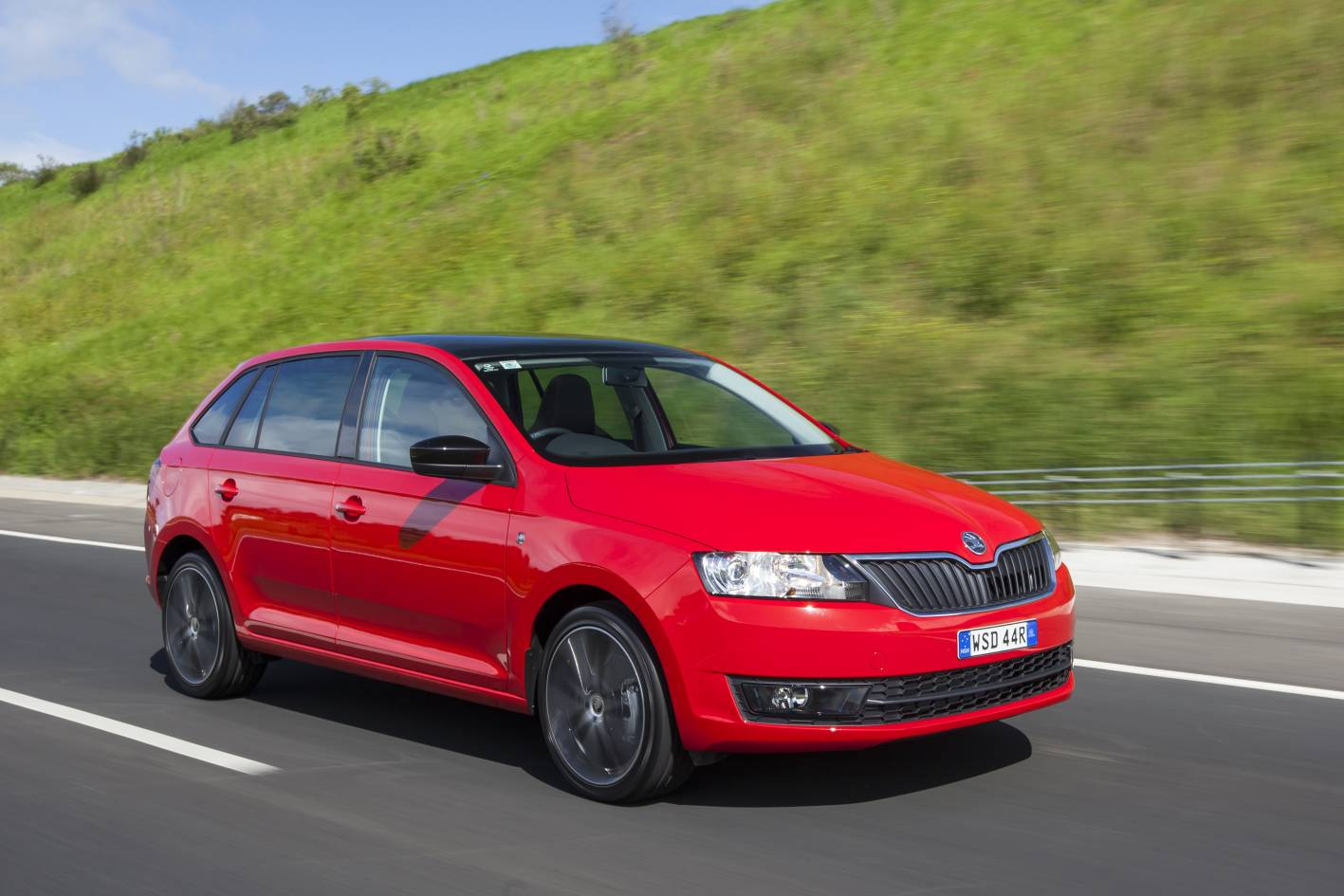 2015 skoda rapid spaceback to sell in australia practical motoring. Black Bedroom Furniture Sets. Home Design Ideas