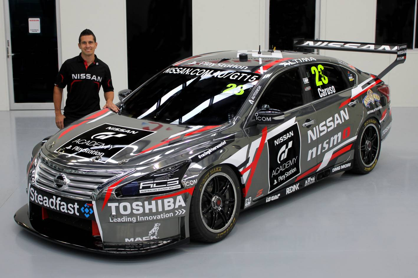 Michael Caruso To Race In Gt Academy Colours Practical Motoring