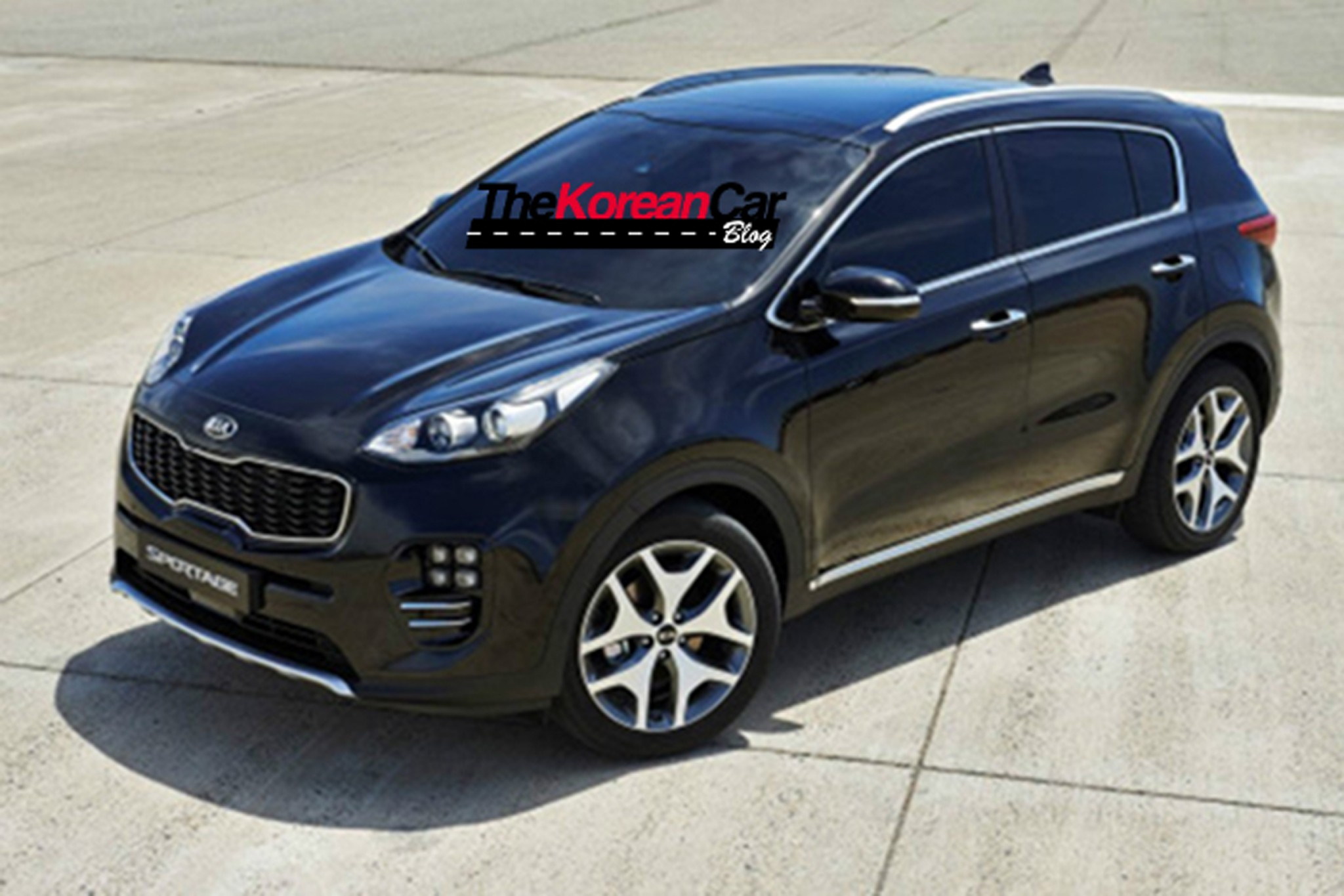 all new 2016 kia sportage revealed in leaked images. Black Bedroom Furniture Sets. Home Design Ideas