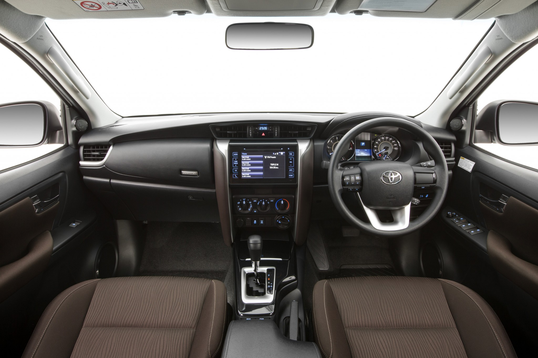 2016 Toyota Fortuner Interior Revealed Practical Motoring