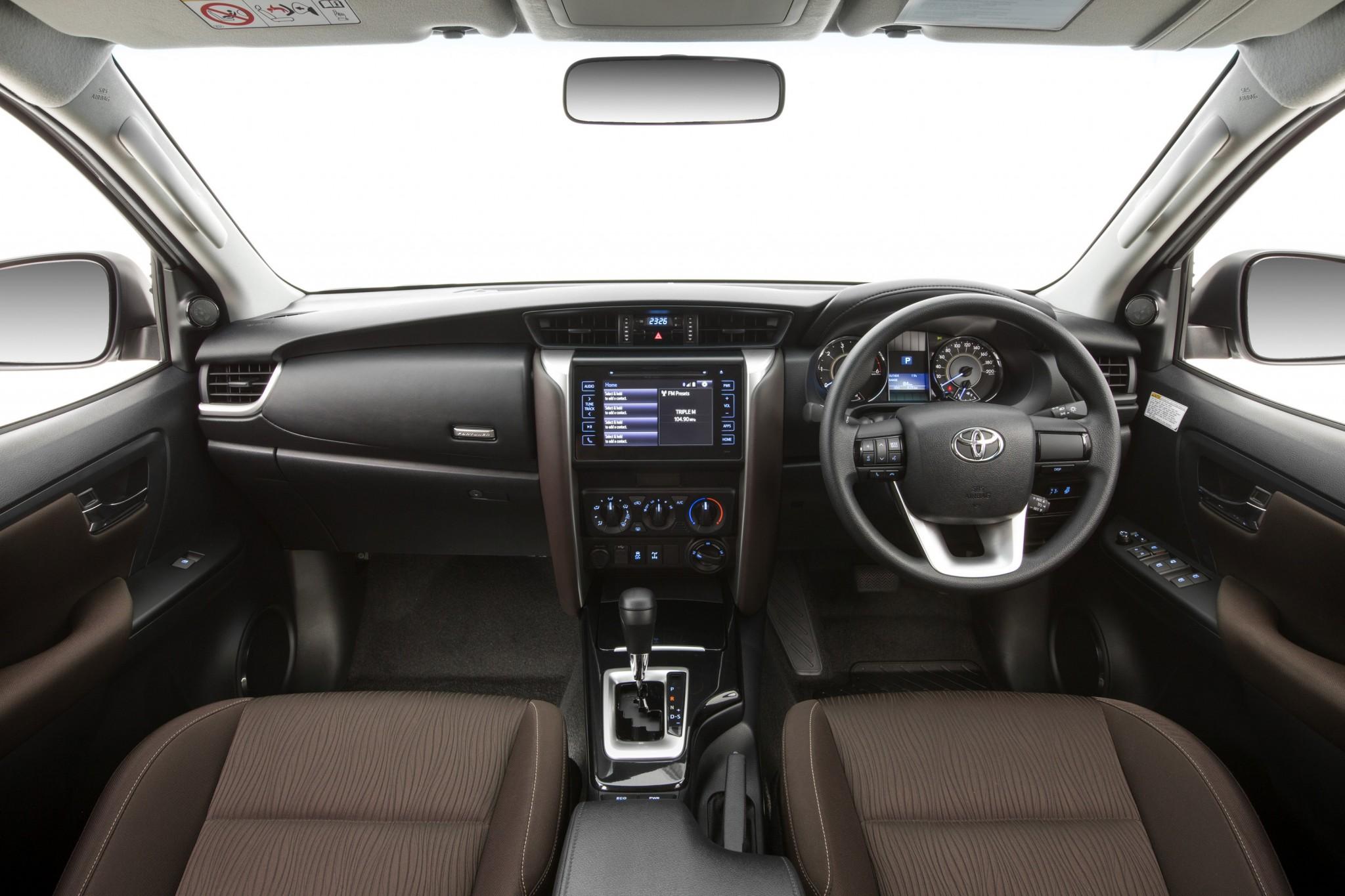 2016 Toyota Fortuner interior revealed | Practical Motoring