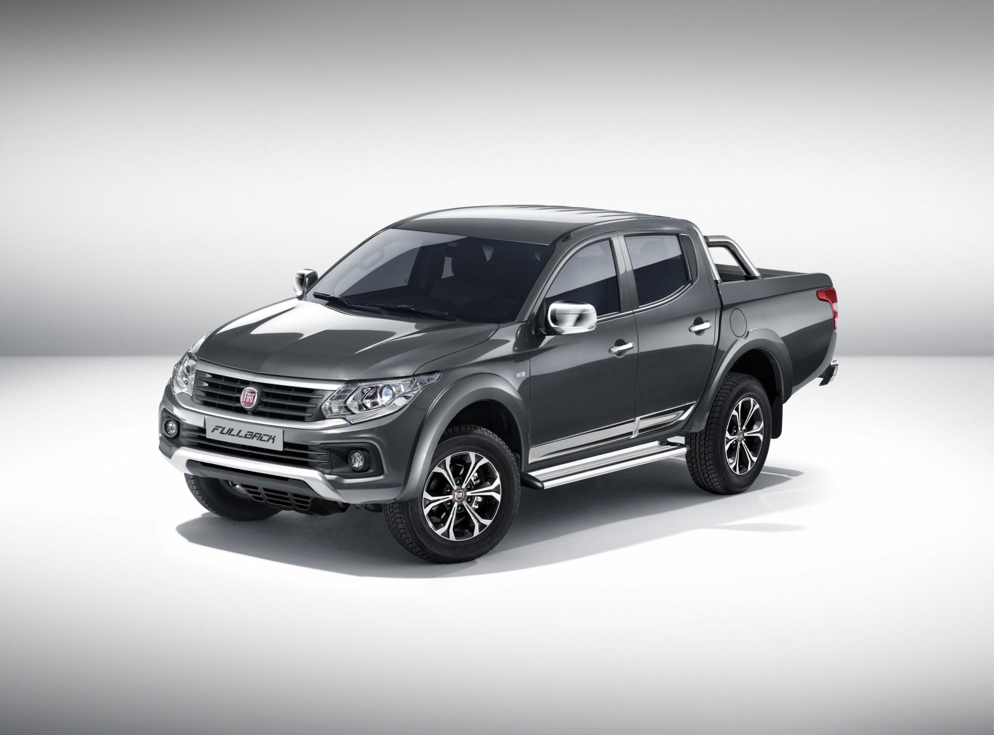 Mitsubishi Triton-based Fiat Fullback ute revealed