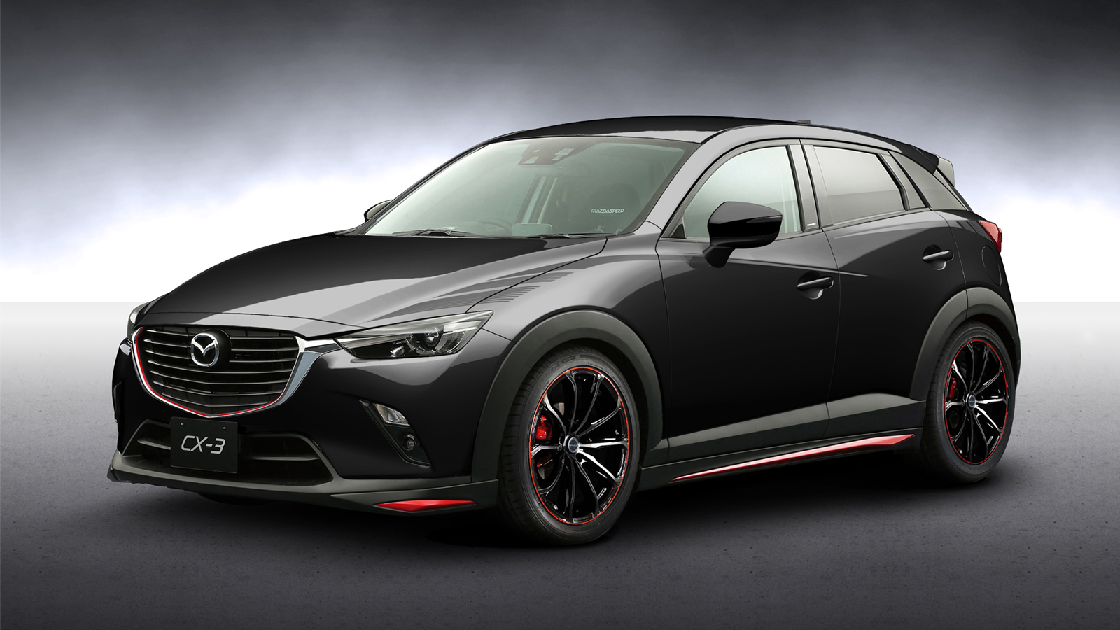 mazda cx3 racing concept teased ahead of tokyo auto salon