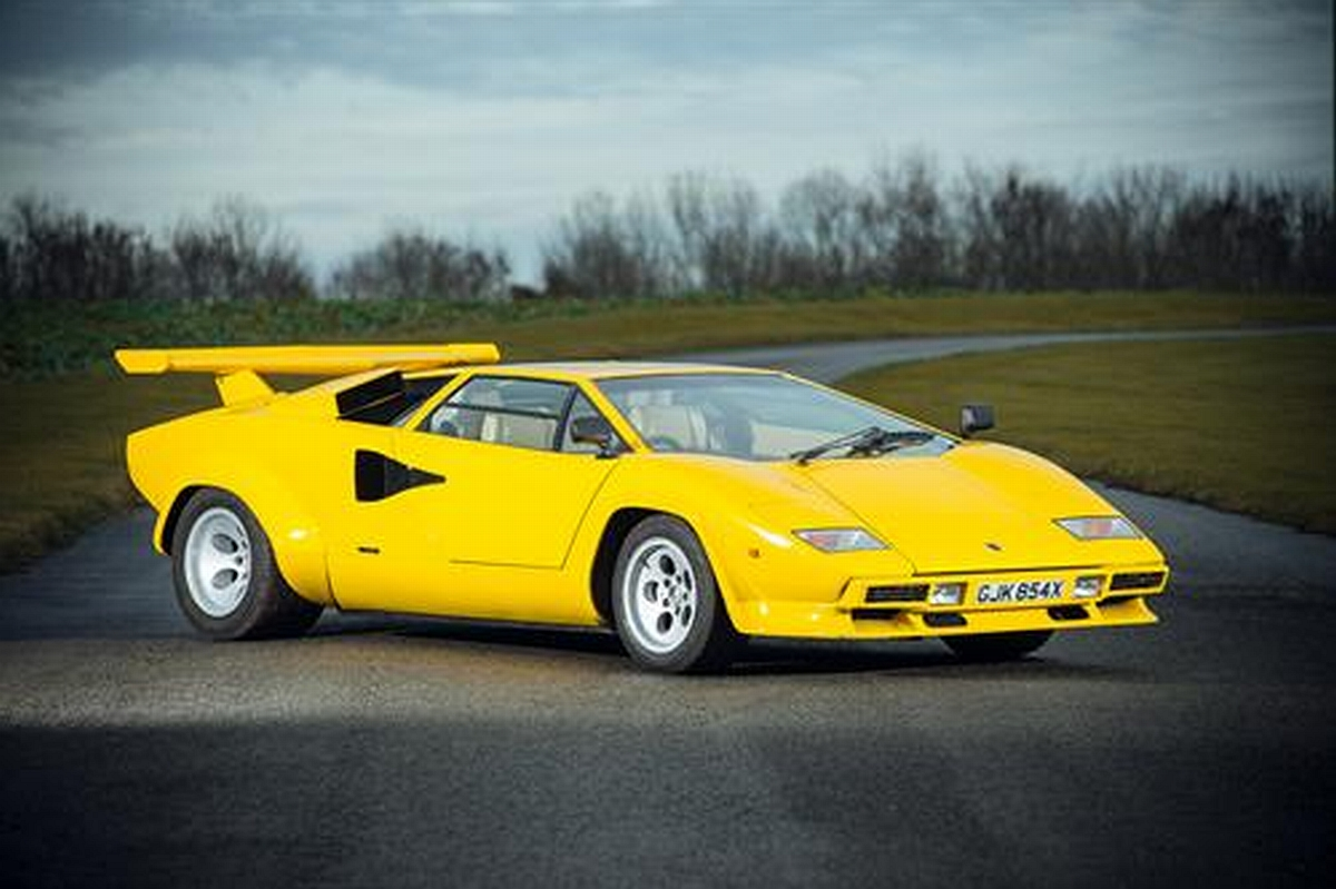 Rare Lamborghini Countach 400s To Be Auctioned In Uk