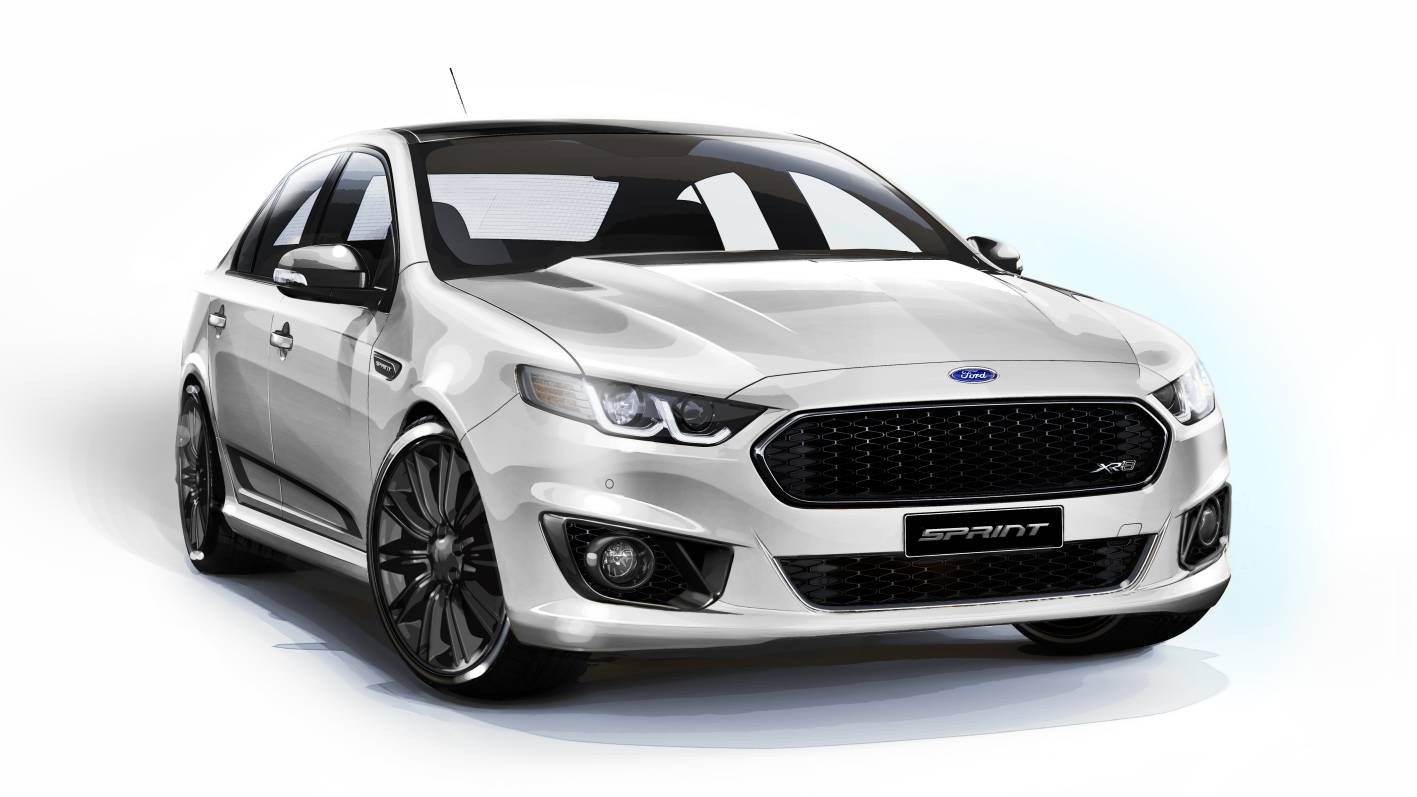 2016 ford falcon sprint gets pirelli p zero tyres to. Black Bedroom Furniture Sets. Home Design Ideas