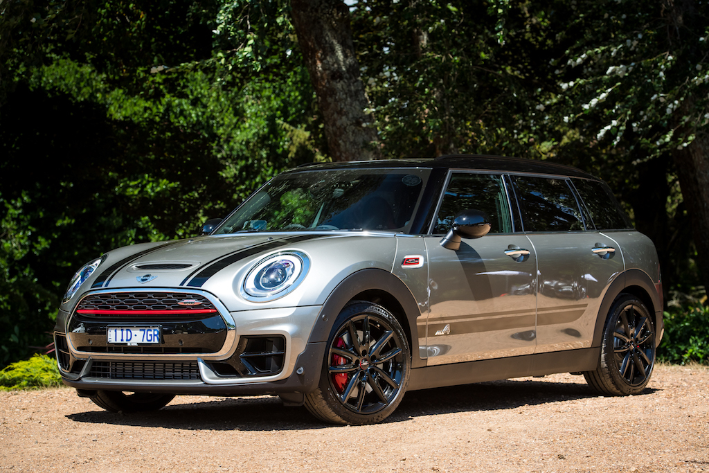 2017 mini jcw clubman a very quick spin practical motoring. Black Bedroom Furniture Sets. Home Design Ideas