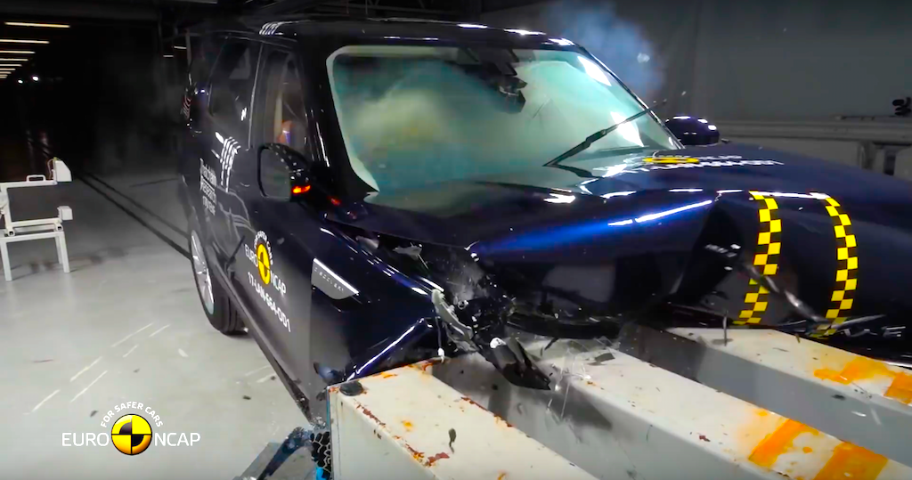 New Land Rover Discovery and Audi Q5 get Euro NCAP 5 star rating   Practical Motoring