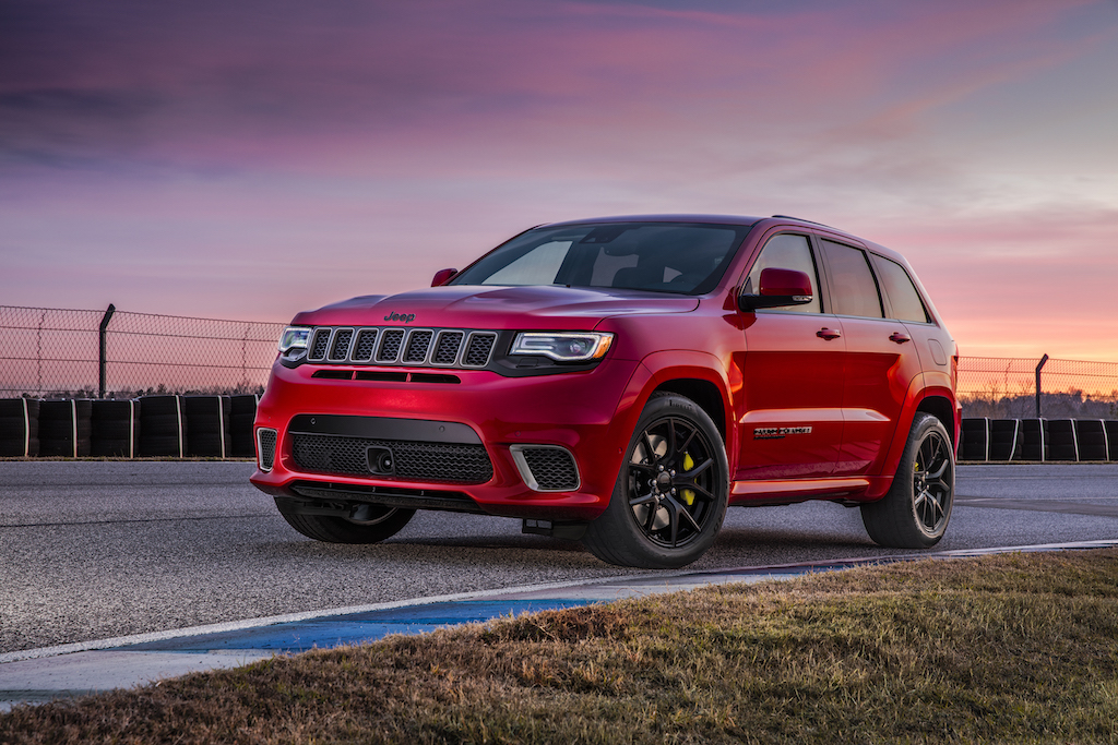 2018 Jeep Grand Cherokee Trackhawk Revealed