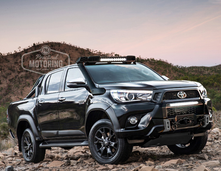toyota to produce tonka based hilux 4x4 and 39 luxury 39 variant practical motoring. Black Bedroom Furniture Sets. Home Design Ideas
