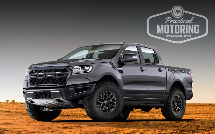 five things we can expect from the ford ranger raptor practical motoring. Black Bedroom Furniture Sets. Home Design Ideas
