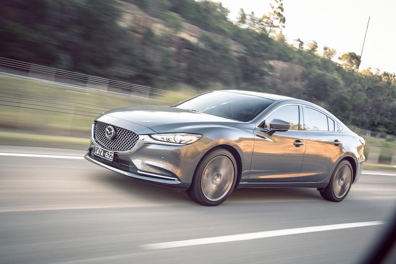 2018 Mazda6 Review Atenza Sedan Practical Motoring