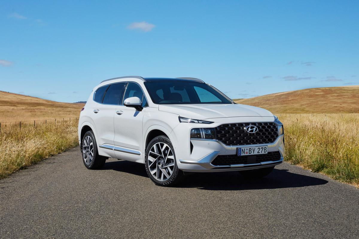 2021 Hyundai Santa Fe Review Practical Motoring